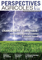 Couverture de Perspectives Agricoles n°403, septembre 2013