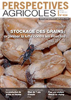 Couverture Perspectives Agricoles 404, octobre 2013