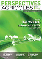 couverture perspectives agricoles n° 410, avril 2014