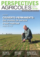 couverture perspectives agricoles 421, avril 2015